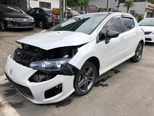 Sucata Peugeot 308 1.6 16v  Thp 2015 Venda De Peças