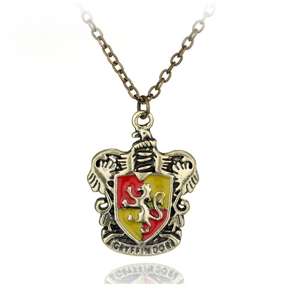 Collar Escudo De Gryffindor Harry Potter