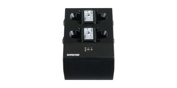 Carregador De Baterias Shure Sbc200 Com Led