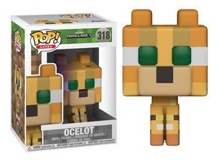 Funko Pop! Ocelot 318 - Minecraft Coleccionable Muñeco