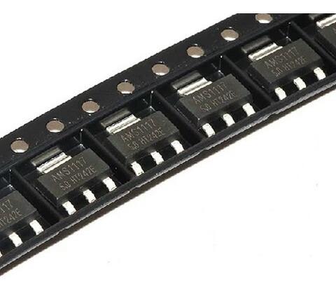 Regulador De Tensão Ams1117 3.3v 1a (100)unidades