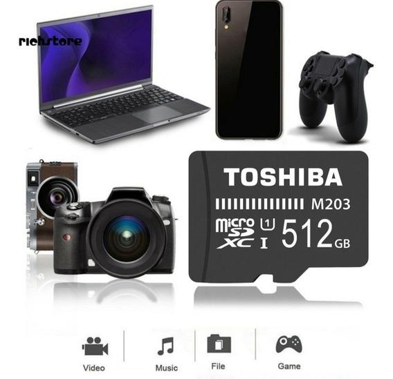 Cartão De Memória/microsd 500gb Toshiba