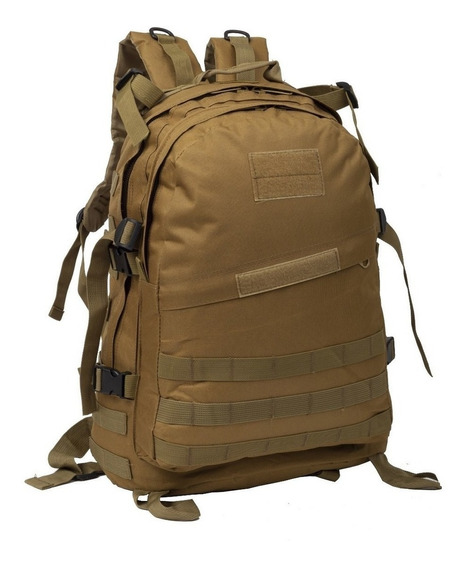 Mochila Tactica Asalto Militar 50 Lts Trekking Seguridad