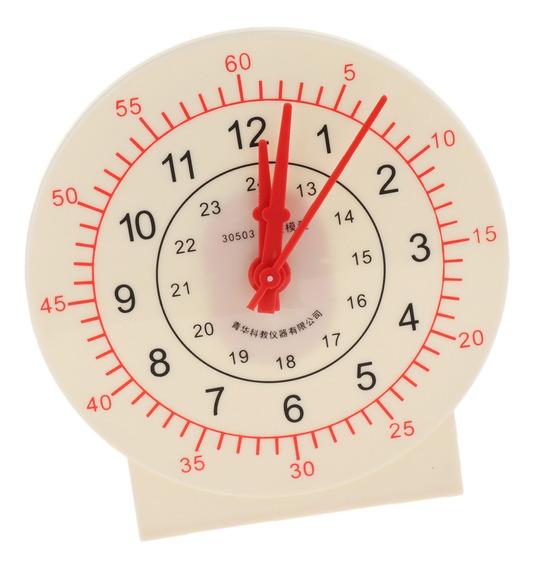 Juegos Educativos Reloj / Reloj De Enseñanza De Plástico