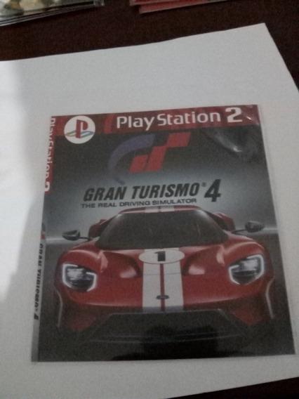 Jogo Ps2 Gran Turismo 4