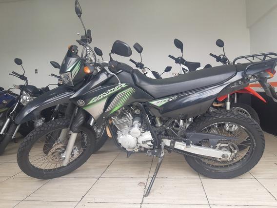 Yamaha - Lander Xtz 250 2008 - 2008 Preta