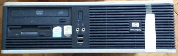 Computador Hp Pentium 4 Ht Sist Original S/ Hd E Periféricos