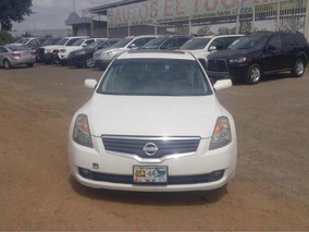 Nissan Altima 2.5 Sl High At Piel Qc Cvt No Hago Cambios