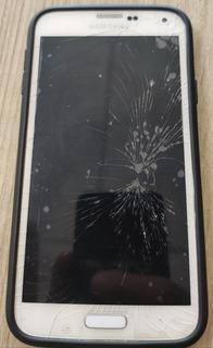 Galaxy S5 G900m Tela Quebrada