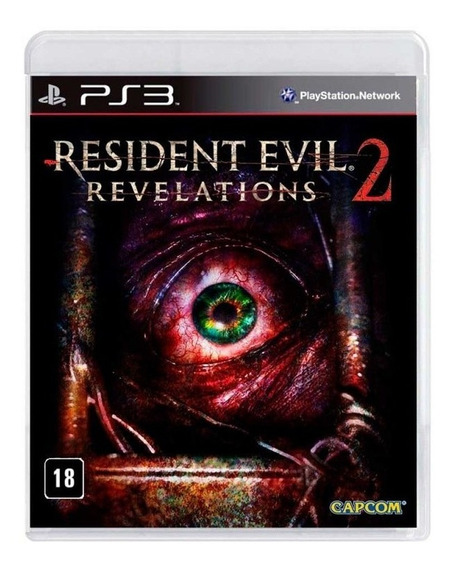 Jogo Resident Evil Revelations 2 Ps3 Fisica Lacrado Nfe