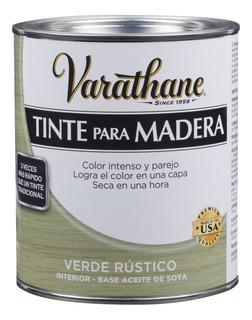 Tinte Para Madera Rústico Rust-oleum Varathane Verde