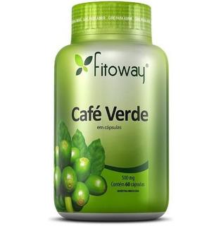 Café Verde 500mg Cápsulas Fitoway (emagrecedor)