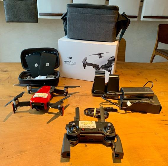 Drone Mavic Air Fly More Combo - Todos Os Acessórios Incluso