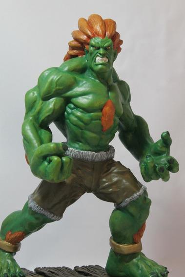 Blanka Street Fighter Escultura 40 Cm