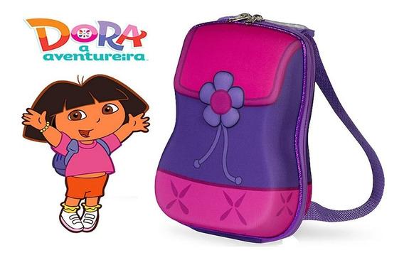 Lancheira Bolsa Marmita Infantil Feminina Maxtoy Dora