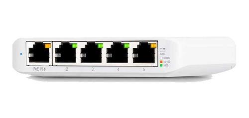 Imagen 1 de 2 de Switch Gigabit Administrable Ubiquiti 5 Puertos