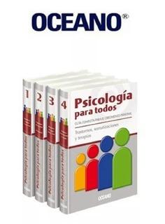 Libros Psicología Para Todos 4 Tomos Oceano