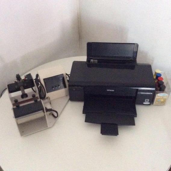 Prensa Térmica Para Caneca E Impressora Sublimação Epson T33