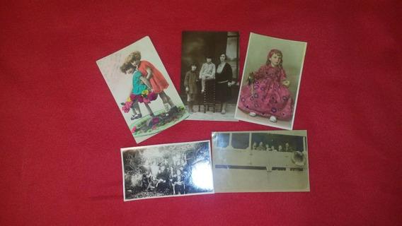 Fotos / Imagenes - Antiguas Años 30 Y 20 Lote De 5 Fotos