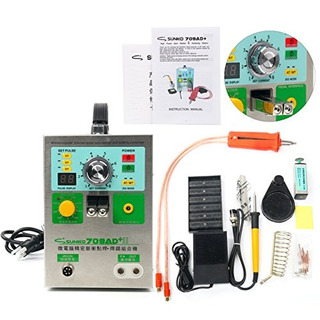 Sunkko 709ad+ Pulse Spot Welder For Battery Pack With Intell