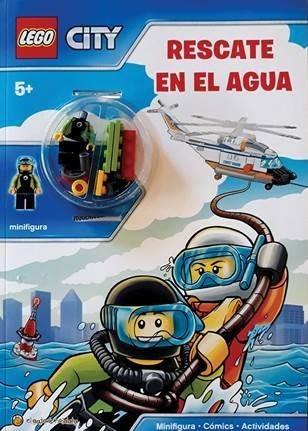Lego City Libro Para Niños Para Con Mini Figura 1944