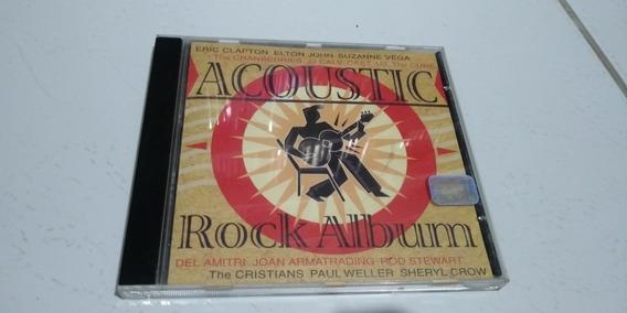 Cd Acoustic Rock Album (elton John, Eric Claptpn, U2)