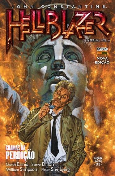 Hellblazer Infernal Nº 6 Chamas Da Perdição John Constantine