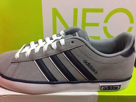 Tênis adidas Original Derby Vulc Cinza/azul Masculino 39/41