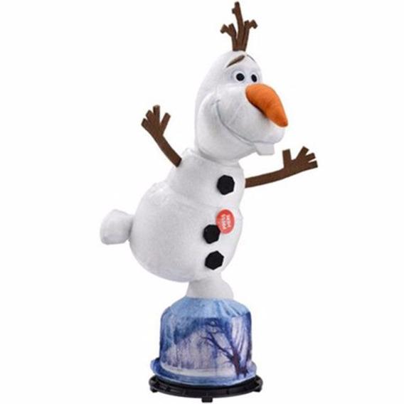 Pelúcia Frozen Olaf Gira E Fala - Multikids * + Brinde
