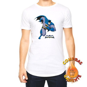 Playera Hombre Comic Superheroes Batman Retro Vintage 2