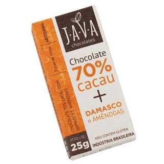 Chocolate 70% Cacau Sem Glúten/lactose - Damasco