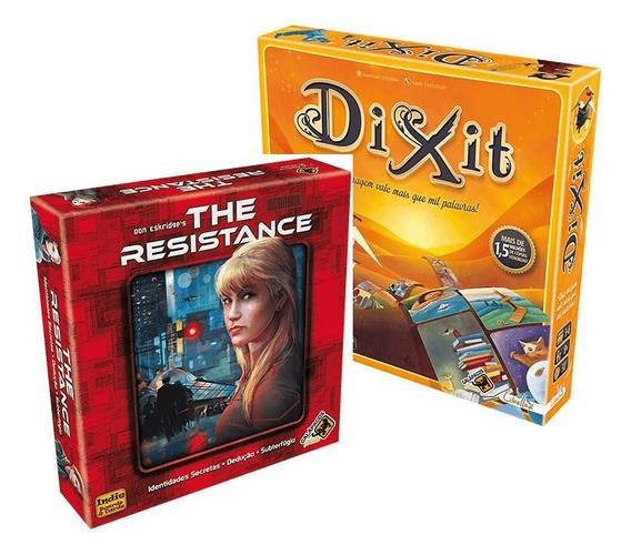 The Resistance + Dixit Jogos De Cartas Galapagos