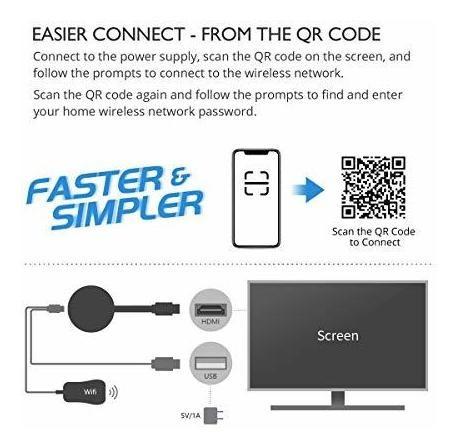 Para iPhone Wifi Display Tv Hdmi Dongle Adaptador 0jfx