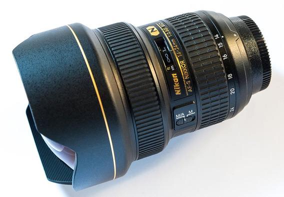 Lente Nikon Af-s 14-24mm F/2.8g Ed Zoom Nikkor