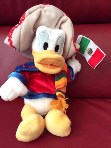 Disney Pato Donald Mexicano Importado De Disneyworld Epcot