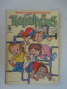 Os Trapalhões Nº 10! Editora Abril Out 1988!