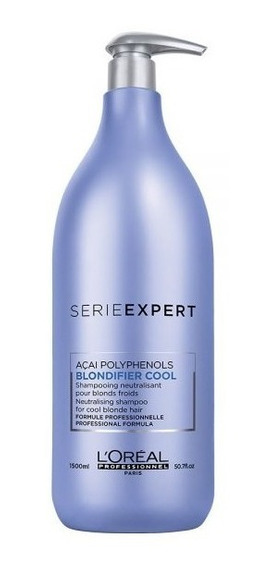 Blondifier Loreal Profesional Shampoo Cool X 1500 Matizador