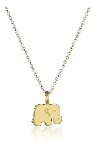 Collar Elefante Buena Suerte Fortuna Amor Felicidad Dama