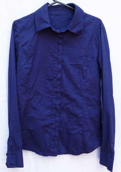 Camisa Azul Para Mujer