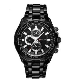 Relógio Masculino Original Curren Aço Inoxidavél Promoção