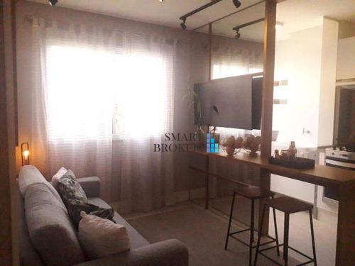 Apartamento Com 2 Dormitórios À Venda, 41 M² - 1 Vaga - Jardim Prudência - São Paulo/sp - Ap1200