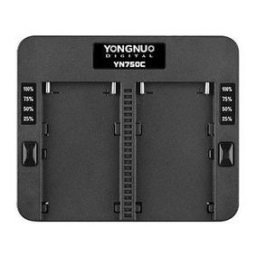 Carregador Yongnuo Yn-750c (slot P/2 Baterias Tipo Sony Npf)