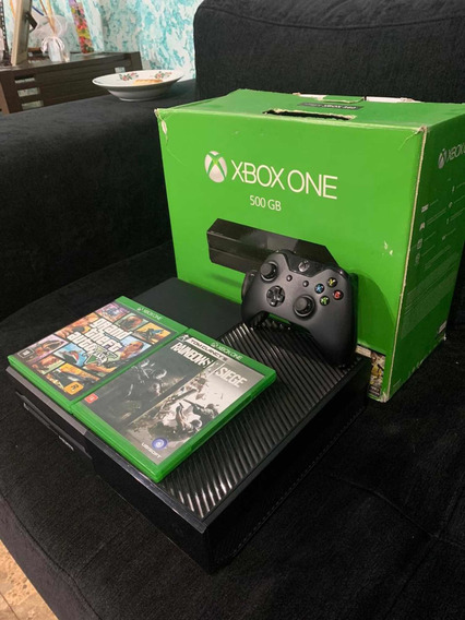 Xbox One Completo + Controle + 2 Jogos Inclusos + 500 Gb
