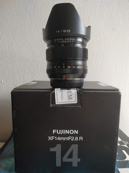 Lente Fujinon Xf 14mm F/2.8 R (r$ 2560 À Vista)