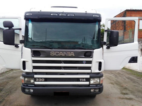 Scania 330 P-114 2003 4x2 Branco (0829)