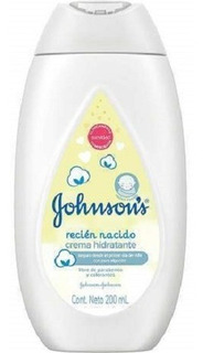 Johnsons Baby Crema Hidratante Recién Nacido X 200 Ml
