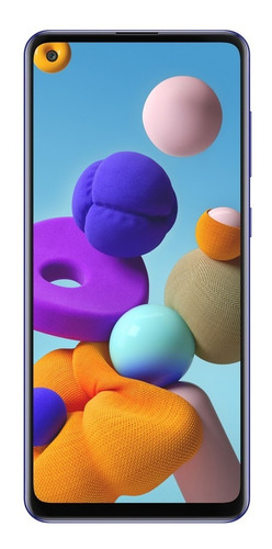 Celular Samsung Galaxy A21s 128gb+4gb+4camáras