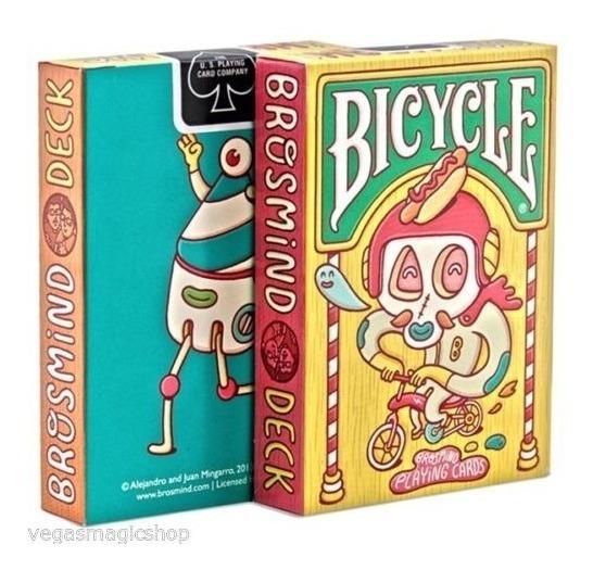 Baralho Bicycle - Brosmind Made In Usa Original