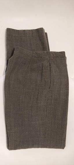 Pantalón De Traje De Mujer Talle 40 Marca Mng