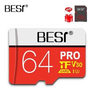 Cartao De Memoria Micro Sd Card Pro U3 V30 A1 64gb Best